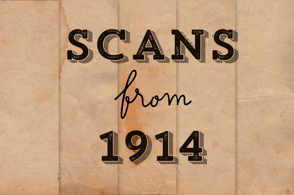Scans From 1914 Paper Pack Freebies