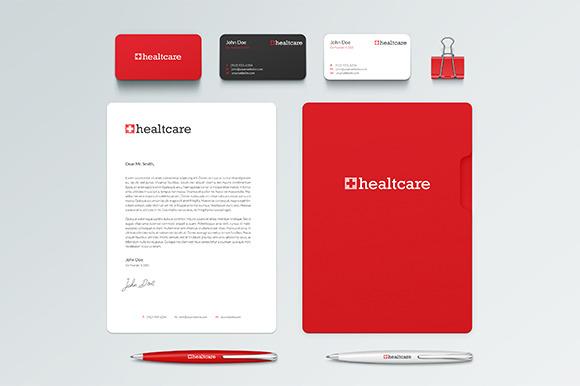 Healtcare Mini Brand Identity