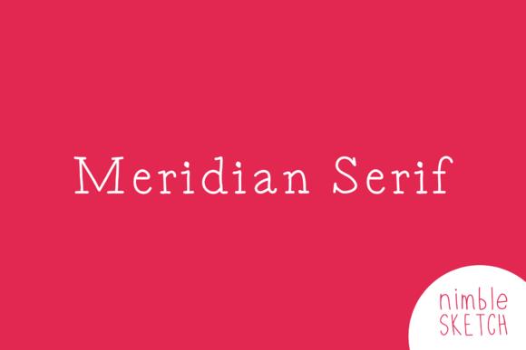 Meridian Serif