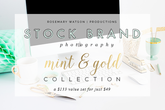 Mint Gold Stock Brand Collection