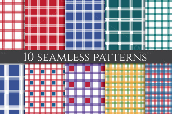 Plaid Fabric Patterns