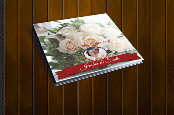 Wedding CD Cover Design