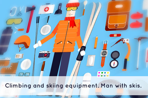 Climbing And Skiing Equipment
