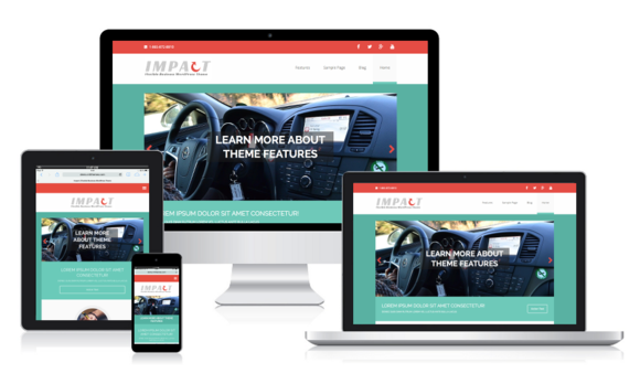 MH Impact WordPress Theme