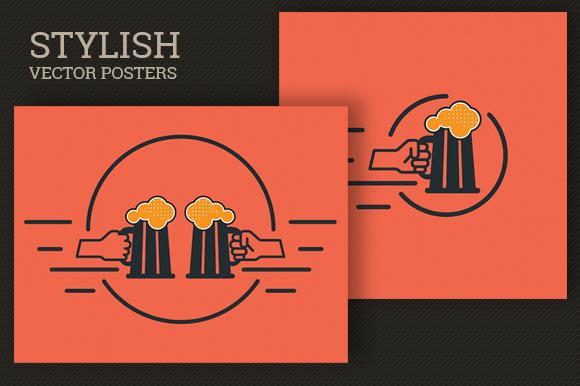 Beer Vector Posters
