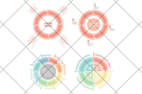 Circle Infographic Elements