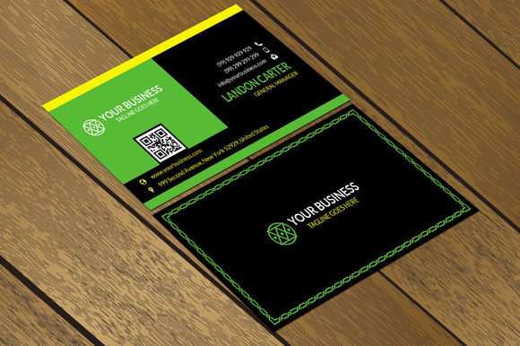 CT001 Corporate Business Card