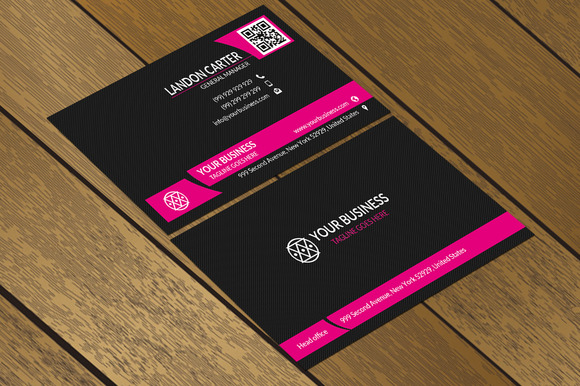 CT002 Simple Corporate Business Card