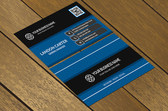 CT005 Corporate Business Card
