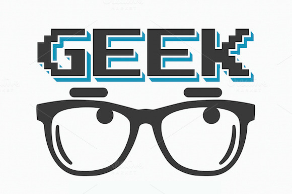 Geek T-shirt Poster Design