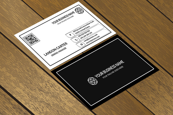 CT006 Clean Minimal Business Card