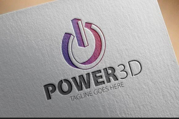 Power 3D Logo