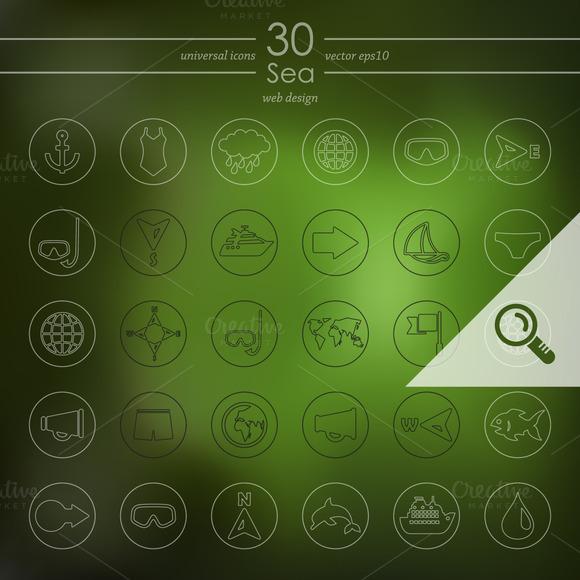 30 SEA Icons