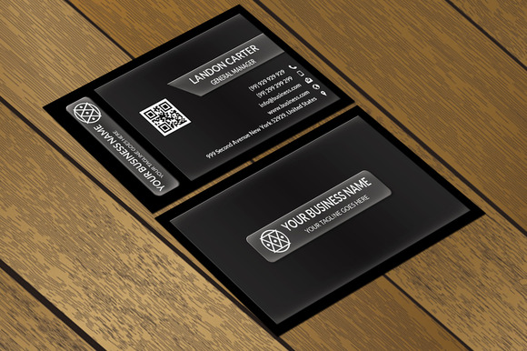 CT007 Corporate Business Card