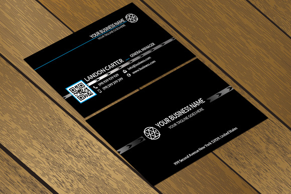 CT013 Corporate Business Card