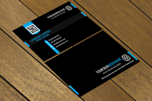 CT014 Corporate Business Card