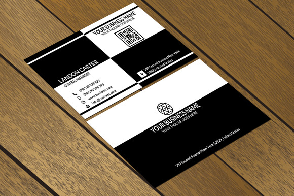 CT018 Clean Minimal Business Card