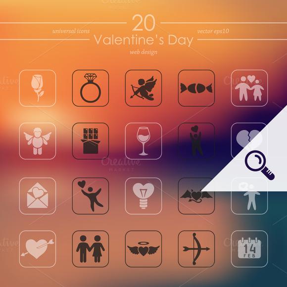 20 Valentine S Day Icons