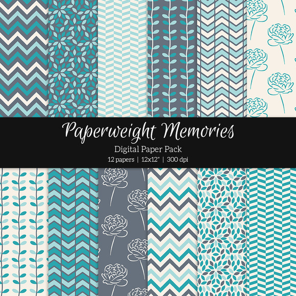 Patterned Paper Let It Go