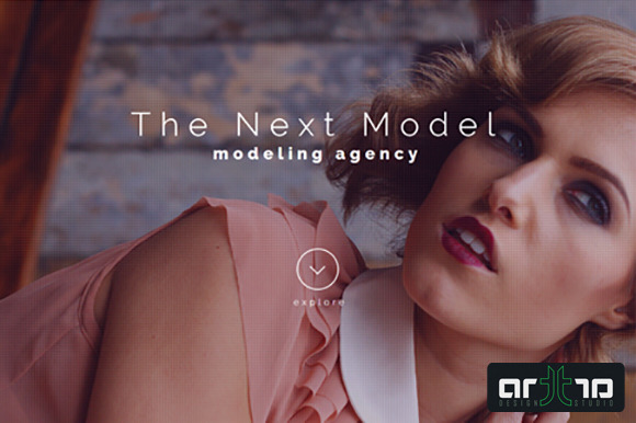 Fashion Agency Template