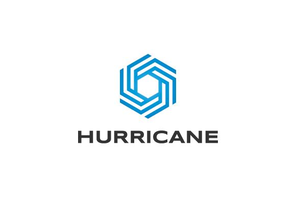 Hurricane Symbol Logo