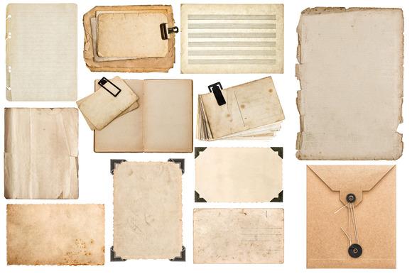 Scrapbook Paper Objects JPG