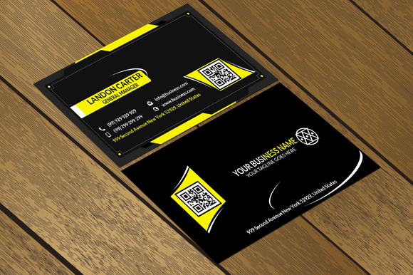 CT022 Corporate Business Card