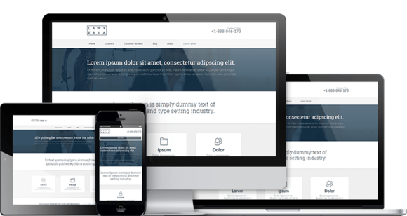 Lawyeria Attorney WordPress Theme