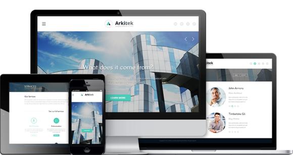 Arkitek Interior Design WordPress