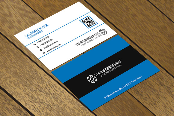 CT024 Corporate Business Card