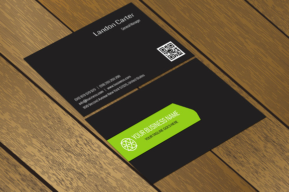 CT025 Creative Business Card