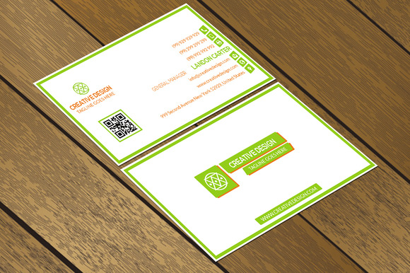 CT028 Corporate Business Card