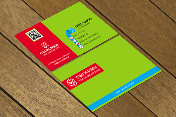 CT032 Corporate Business Card