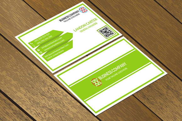 CT035Corporate Business Card
