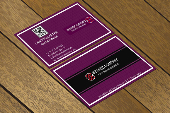 CT036 Corporate Business Card