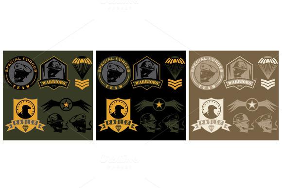 Unit Military Emblems