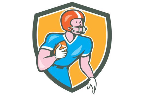 American Football Player Rusher Shie