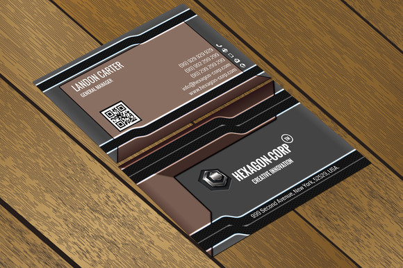 CT041 Corporate Business Card