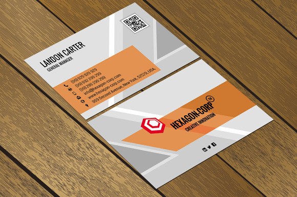 CT042 Corporate Business Card