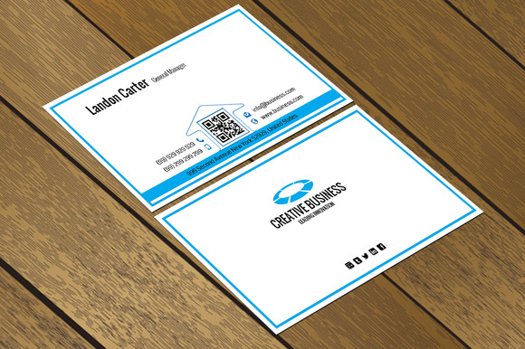 CT048 Corporate Business Card
