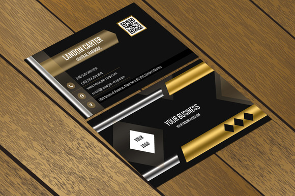 CT049 Corporate Business Card