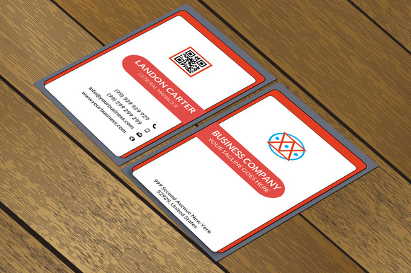 CT058 Corporate Business Card