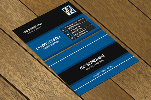 CT061 Corporate Business Card
