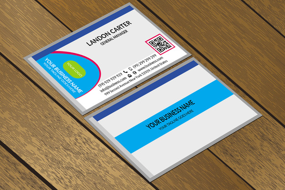 CT063 Corporate Business Card