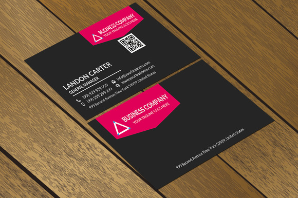 CT066 Corporate Business Card