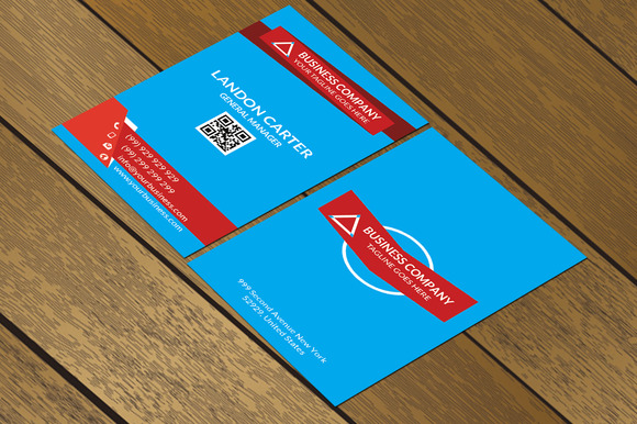 CT068 Corporate Business Card