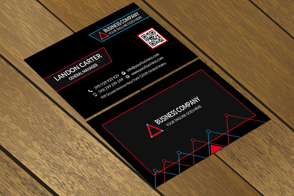 CT069 Corporate Business Card