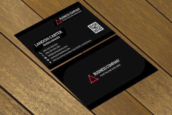 CT070 Corporate Business Card
