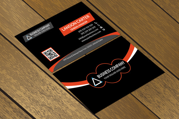 CT072 Corporate Business Card