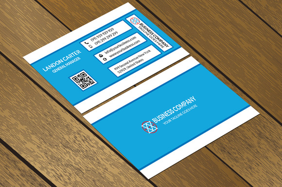 CT074 Corporate Business Card